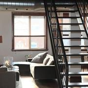 现代loft风格复式楼客厅装修效果图鉴赏