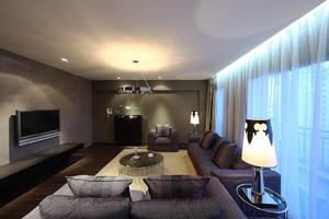 现代奢华风格别墅室内装修效果图赏析