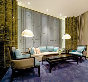 新中式风格自建别墅室内装修效果图赏析
