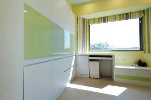 75平米宜家小清新风格飘窗设计效果图赏析