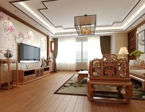 中式风格大户型仿古客厅足彩导航效果图赏析