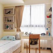 12平米现代简约风格儿童房装修效果图鉴赏