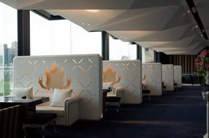 220平米现代风格餐厅设计效果图赏析