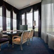 150平米现代风格会客厅装修设计效果图赏析