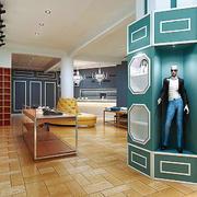 166平米现代风格精致服装店装修效果图赏析