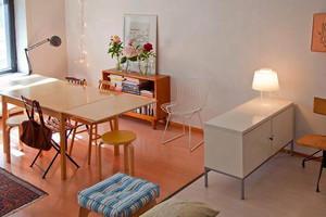 北欧风格单身公寓室内装修效果图鉴赏