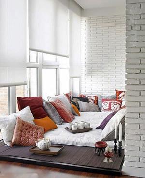 110平米北欧风格阳台改造卧室装修效果图鉴赏