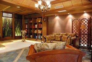 120平米东南亚风格客厅装修效果图鉴赏