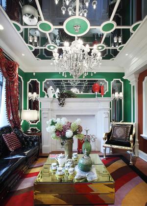法式风格别墅客厅装修效果图赏析