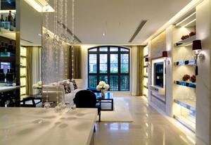 新古典主义风格复式楼室内装修效果图赏析
