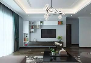 105平米后现代风格客厅装修效果图
