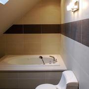 后现代风格两居室卫生间装修效果图