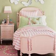 108平米简欧风格粉色梦幻儿童房装修效果图