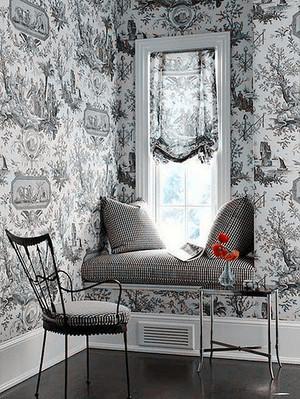 60平米简欧风格客厅飘窗设计效果图赏析