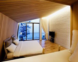 简约泰式风格四居室卧室装修效果图