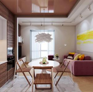 极简主义风格女生公寓室内装修效果图鉴赏