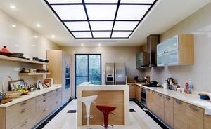 145平米现代风格开放式厨房吊顶效果图赏析