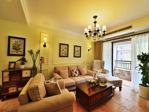 美式田园风格两居室室内装修效果图赏析