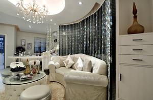 欧式风格三居室室内装修效果图鉴赏