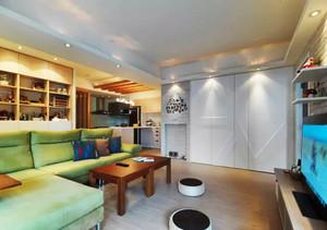 100平米日式简约风格室内装修效果图鉴赏