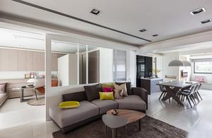 70平米现代简约风格室内装修效果图鉴赏