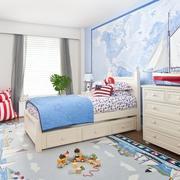 2016轻松的现代小户型儿童房装修效果图实例