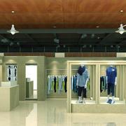 80平米现代风格服装店装修设计效果图赏析