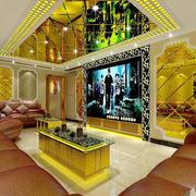 37平米现代风格时尚KTV装修效果图赏析