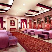 150平米现代风格美容院装修设计效果图