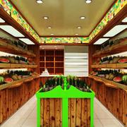42平米现代风格水果店装修效果图