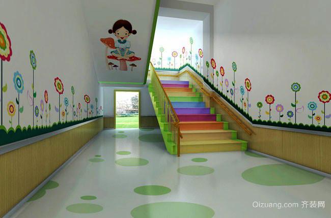 220平米现代风格幼儿园装修设计效果图
