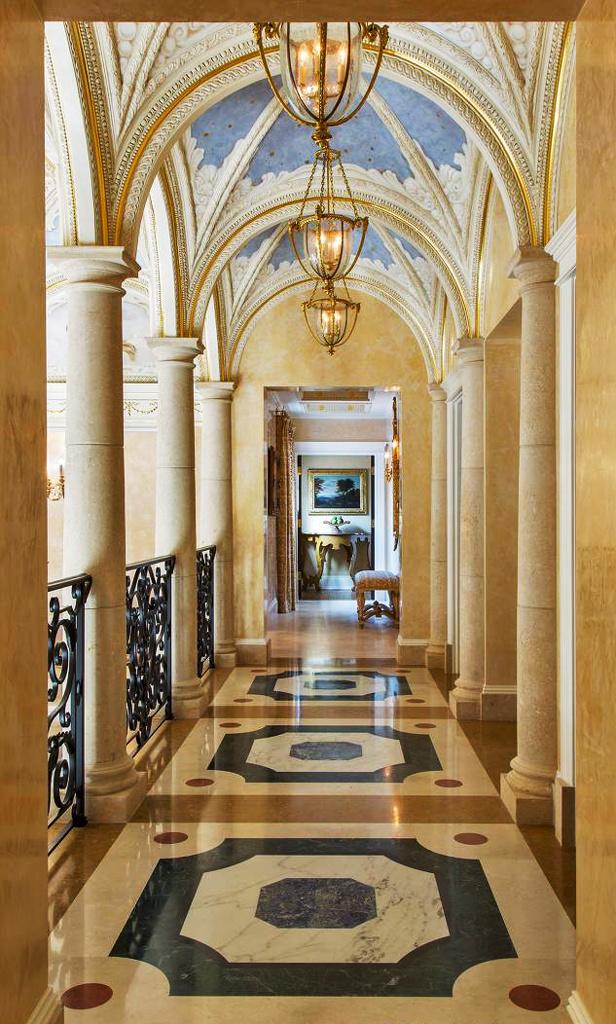 巴洛克风格别墅过道设计效果图赏析