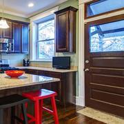 美式风格别墅厨房玄关设计效果图鉴赏