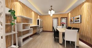 简欧风格小户型餐厅改书房装修效果图赏析