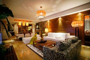 320平米东南亚风格别墅室内装修效果图鉴赏