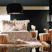 法式风格三居室卧室装修效果图赏析