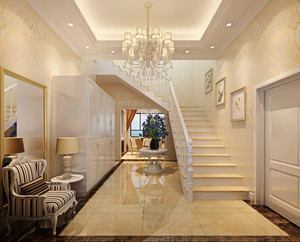 欧式风格别墅楼梯设计效果图赏析