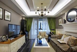 欧式田园风格大户型室内装修效果图赏析