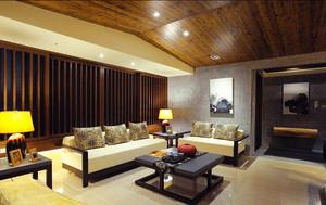 日式原木风格大户型室内装修效果图赏析