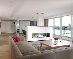 现代风格小户型客厅隔断设计效果图