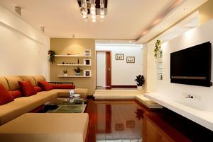 现代风格三居室室内装修效果图赏析