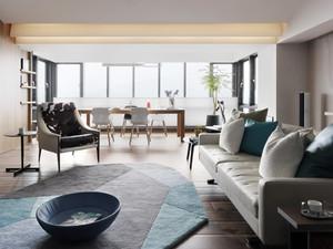 现代灰色主题工业风格单身公寓室内装修效果图鉴赏