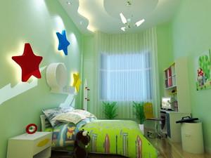 125平米现代简约风格儿童房装修效果图鉴赏