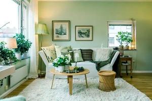 小清新宜家风格两居室室内装修效果图赏析
