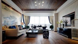 140平米中式风格室内装修效果图赏析