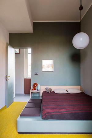 50平米都市简约风格女生公寓室内装修效果图