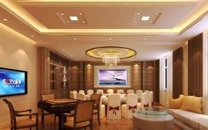32平米现代风格酒店包厢装修效果图赏析