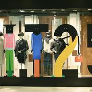 50平米现代风格服装店装修效果图赏析