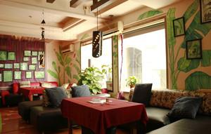 220平米现代风格餐厅装修效果图鉴赏