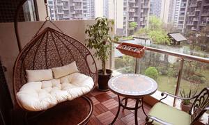 美式风格别墅阳台设计效果图赏析